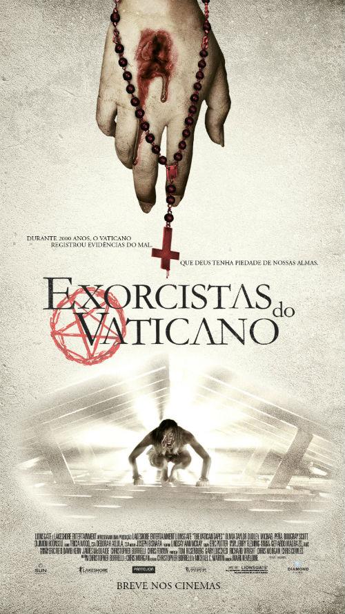 Poster do filme Exorcistas do Vaticano
