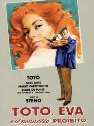 Poster do filme Totó, Eva e o Pincel Proibido