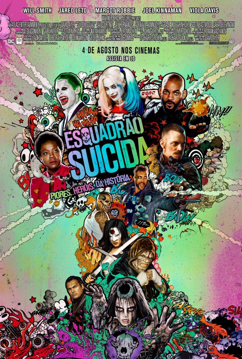 Resultado de imagem para Esquadrão Suicida cartaz