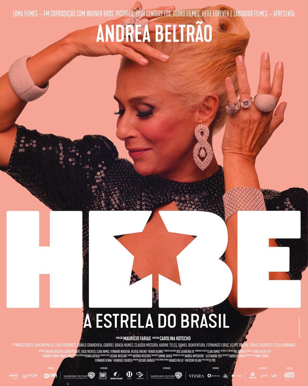 Resultado de imagem para hebe - a estrela do brasil elenco