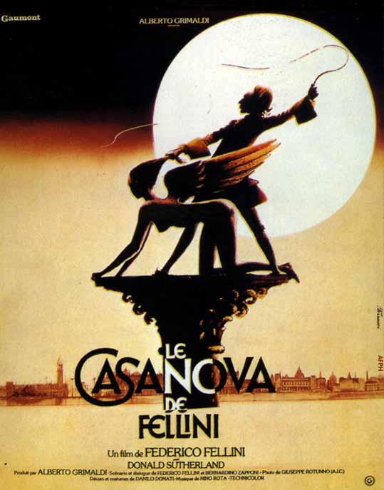 Poster - Casanova de Fellini - Divulgação