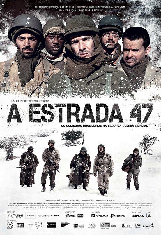 Poster do filme A estrada 47