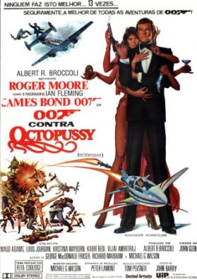007 Contra Octopussy : poster