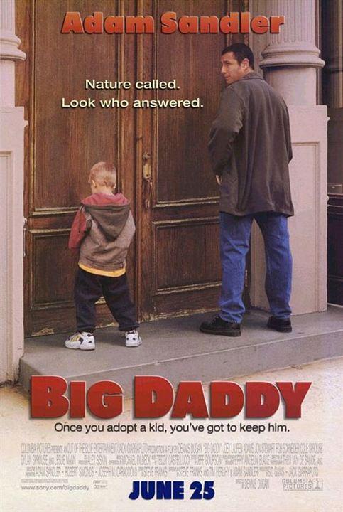 O Paizão (Big Daddy) Poster