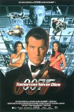007 - O Amanhã Nunca Morre : poster
