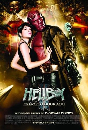 Poster do filme Hellboy II: O Exército Dourado