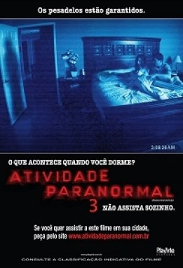 Atividade Paranormal 3 : poster