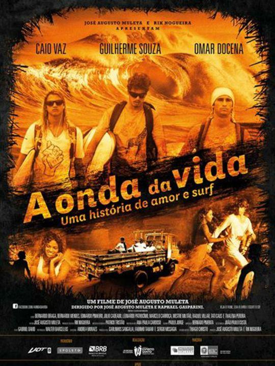 Poster do filme A onda da vida - uma história de amor e surf