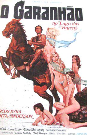 Poster do filme O Garanhão no Lago das Virgens