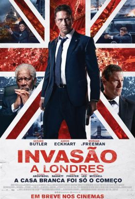 Invasão a Londres : Poster