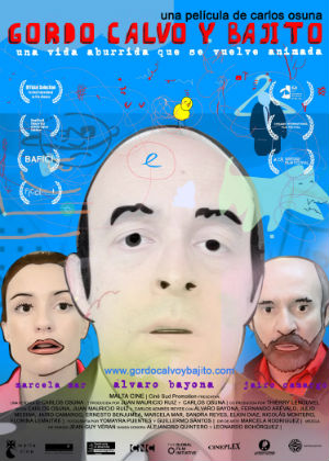 Poster do filme Gordo, Calvo e Baixo