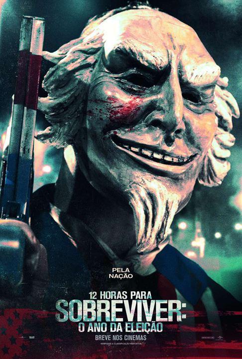 Poster do filme 12 Horas Para Sobreviver - O Ano da Eleição