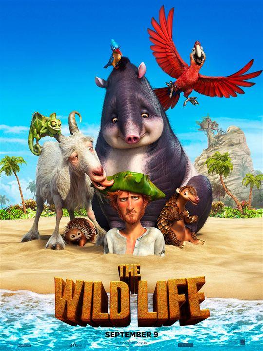 Poster do filme As Aventuras de Robinson Crusoé