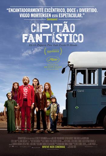 Poster do filme Capitão Fantástico