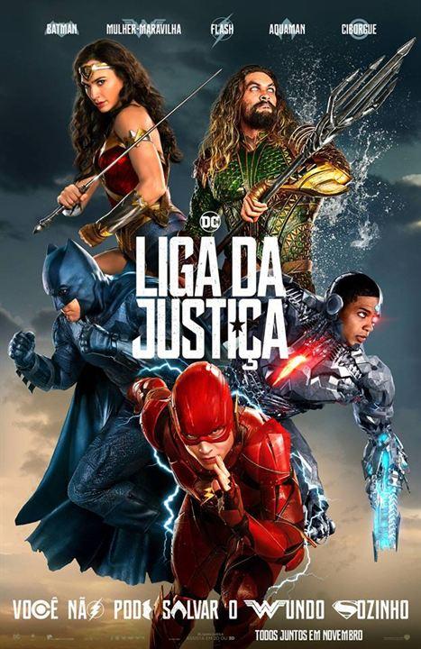Resultado de imagem para cartaz liga da justiça