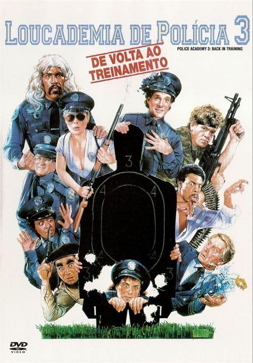 Poster do filme Loucademia de Polícia 3 - De Volta ao Treinamento
