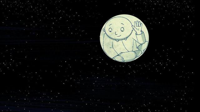 Resultado de imagem para o homem da lua animação