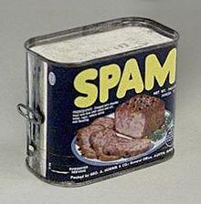 スパムメール(spam mail)