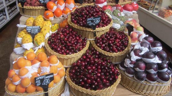 Frutas no Eataly