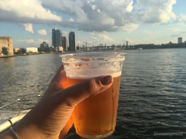 Cerveja e o Brooklyn, em NY