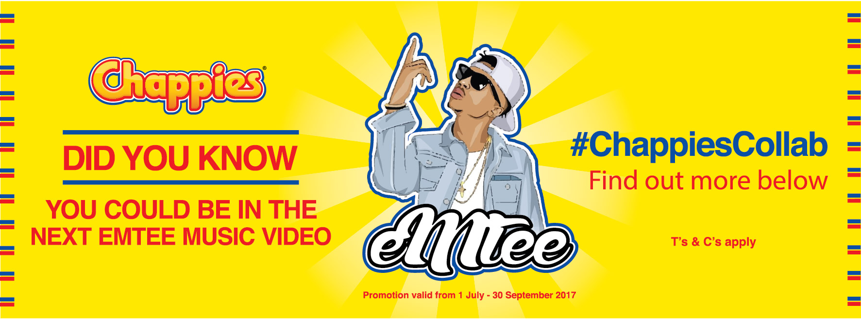 Did You Know? You could feature in rapper Emtee's latest music video!