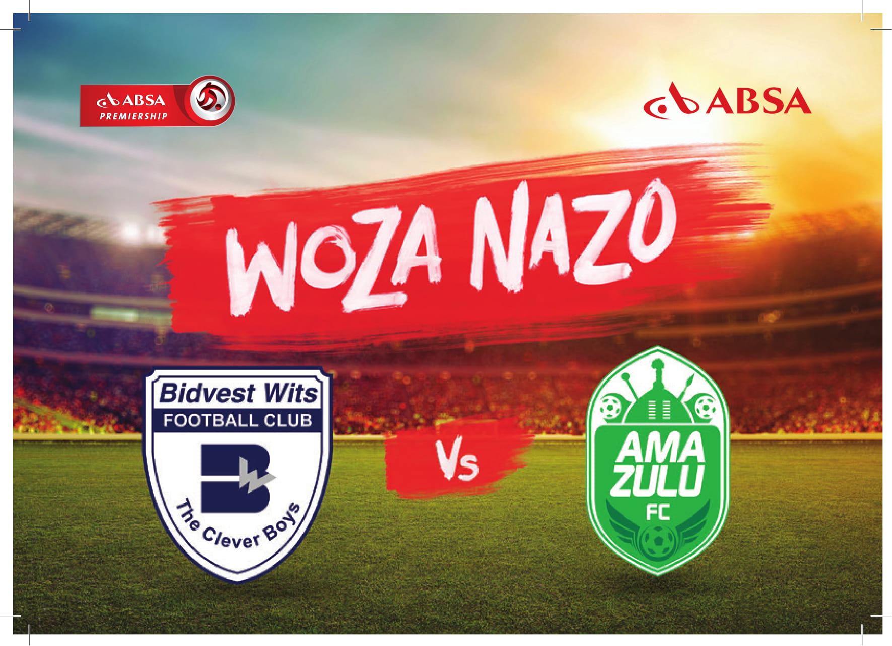 SA's oldest clubs Battle for Points to close off Absa Premiership 'Woza Nazo' campaign