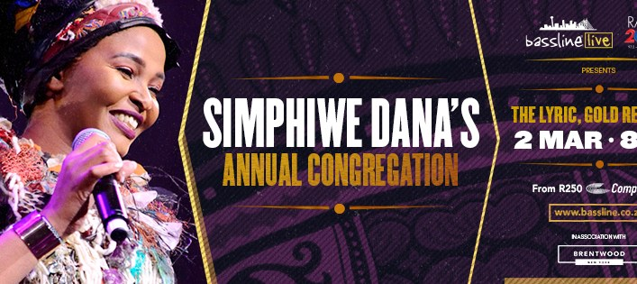 SIMPHIWE DANA's Annual Congregation at The Lyric Theatre on 2nd of March 2019