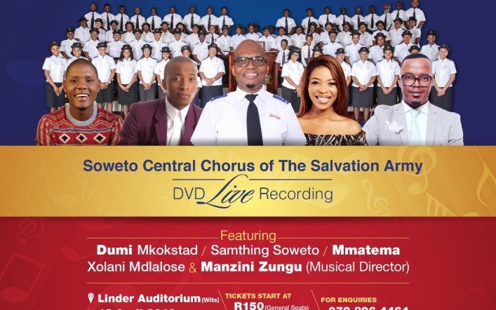 Soweto Central Chorus of The Salvation Army Promises A World Class Show at the 4th Easter Songs of Praise Musical Exprerience