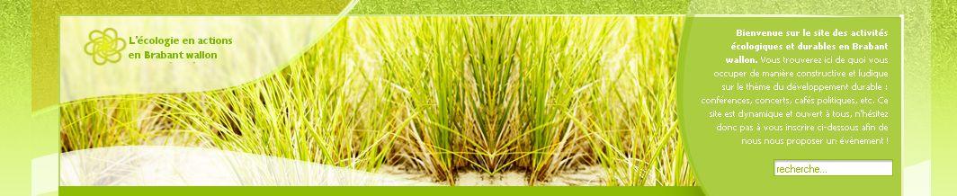 Le nouveau site des actions Ecolos et durables en BW est en ligne