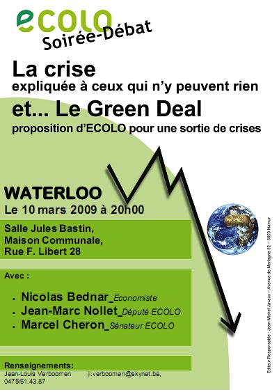 Le 10 mars 2009 : La crise expliquée à ceux qui n'en peuvent rien !