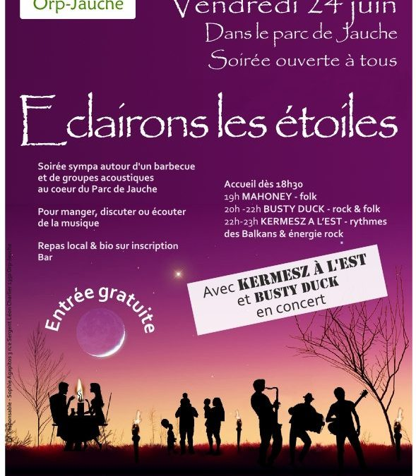 Eclairons les Etoiles à Orp-Jauche le 24 juin 2011