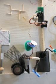 Pannello collettivo: pulitori automatici e telecamera di sorveglianza
