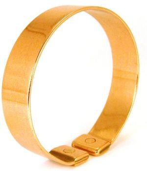 bracelet en cuivre avec aimants