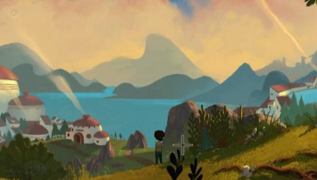 게임 내의 화면은 근래에 플레이한 게임 중에 가장 아름다웠다 (PSVita 스크린샷)