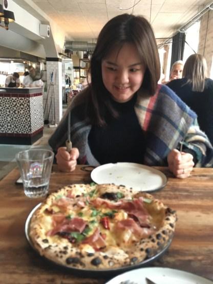 피자는 사랑입니다.