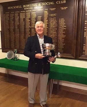 Bracknell Bowling Club Singles Champion 2018 Peter Hawkins