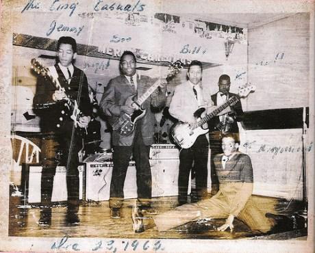 Jimmy James And The Blue Flames The Nashville Bridge
