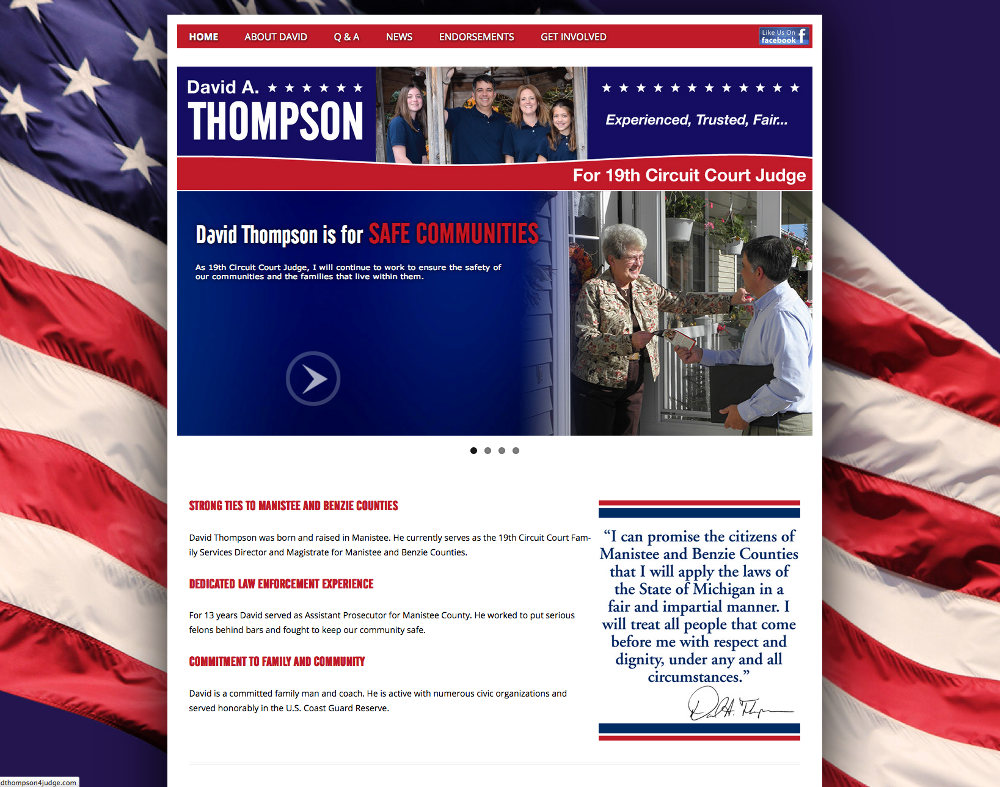 Thompson for Judge