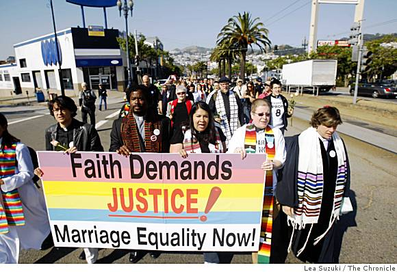 Religious leaders supporting marriage equality on May 26, 2009