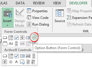 4 Easy Steps to Using the Excel Option Button for Dynamic