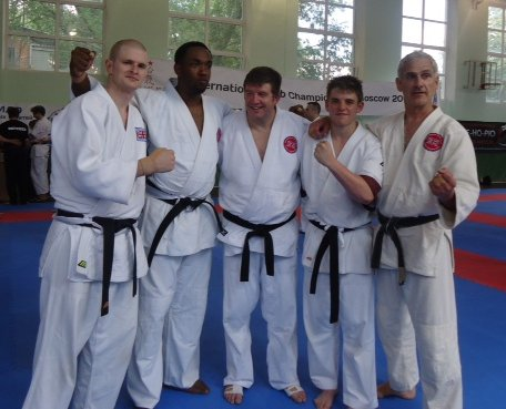 5 Man Randori team (2012 ETAN Championship)