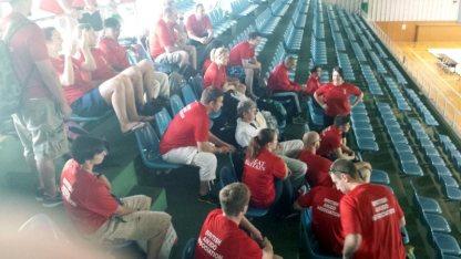 2013 BAA Team waiting for the seminars