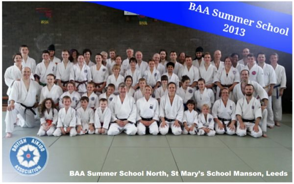 Club members at the 2013 BAA Summer School, Leeds