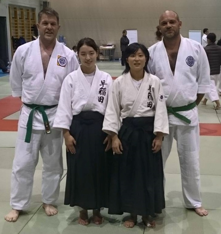 Great open kata by Justin and Jim, but they  lost out to the pair who ended up world champions.