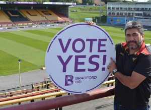 Bradford Bulls boss urges businesses to Vote Yes! for the BID