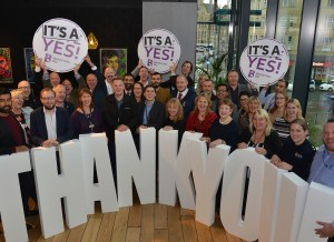 Bradford BID to go ahead after resounding Yes! vote
