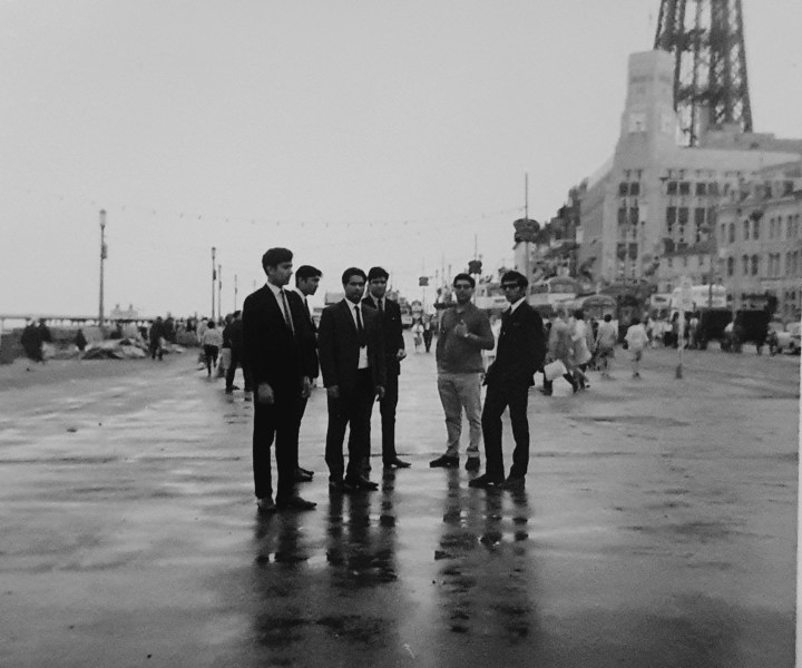 Blackpool: There was a desire to participate in British culture, including the idea of leisure travel and to the seaside, from Bradford.