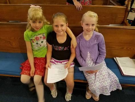 Nettie, Maisy, Emma