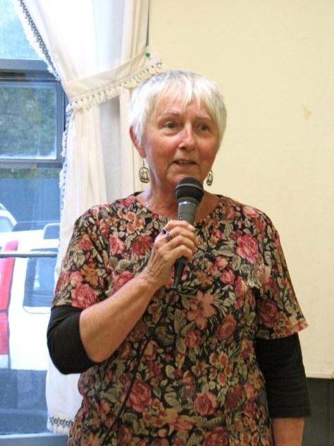 Marcia Tomlinson, chair of the Chicken Pie Supper