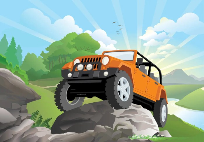 Jeep Illustration